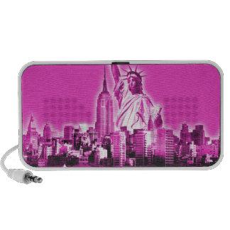 Manhattan - rose haut-parleurs PC