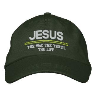 Manière de Jésus-Le. La vérité. Le casquette