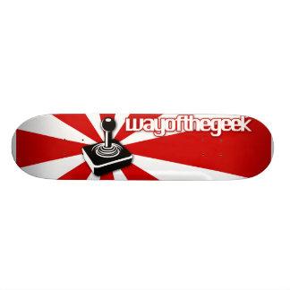 Manière de la plate-forme de planche à roulettes d planches à roulettes customisées
