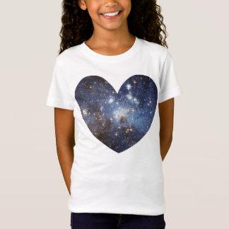 Manière laiteuse d'astronomie d'impression d'amour T-Shirt