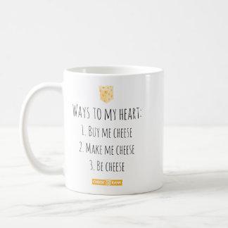 Manières à mon coeur mug
