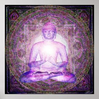 Manifestations de Bouddha Poster