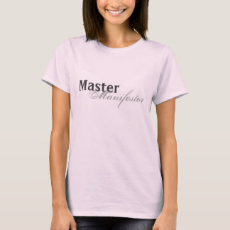 Manifestor principal - loi de T-shirt d'attraction