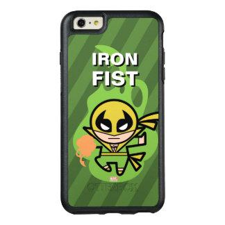 Manipulation de Chi d'Iron Fist de Kawaii Coque OtterBox iPhone 6 Et 6s Plus