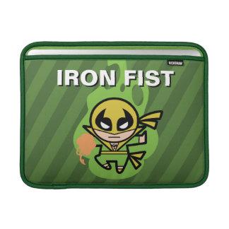 Manipulation de Chi d'Iron Fist de Kawaii Housse Macbook Air