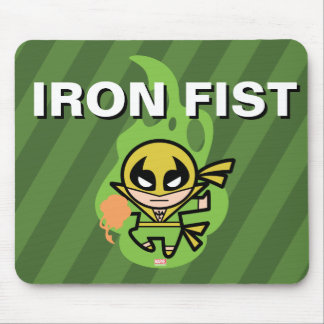 Manipulation de Chi d'Iron Fist de Kawaii Tapis De Souris