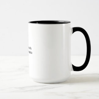 Manoeuvrez les données mug