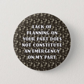 Manque de bouton de planification badges