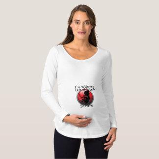 Manquer de chemise de maternité de pièce T-Shirt de maternité
