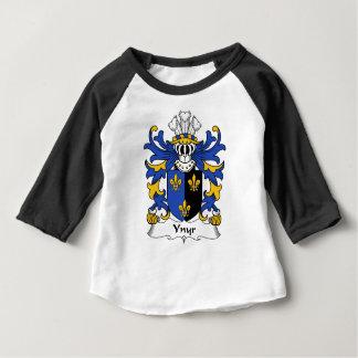 Manteau antique de Ynyr de crête de famille de T-shirt Pour Bébé