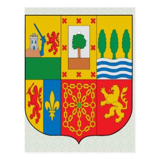 Manteau Basque de détail de bras Cartes Postales