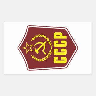 Manteau communiste des autocollants du bras CCCP