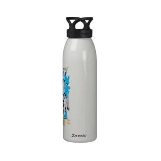 Manteau d enfant des bras - crête de famille bouteilles d'eau réutilisables