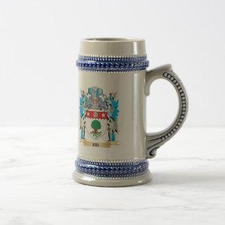 Manteau d enfant des bras - crête de famille mug à café