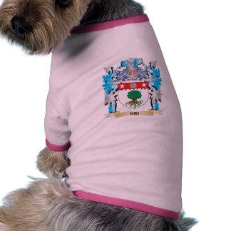 Manteau d enfant des bras - crête de famille t-shirt pour toutou