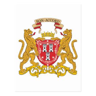 Manteau d'Aberdeen des bras Carte Postale