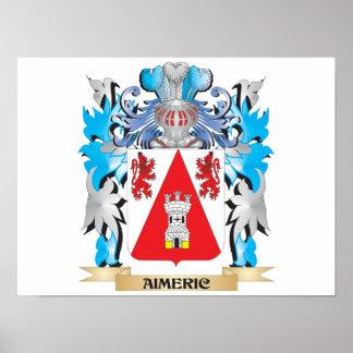 Manteau d'Aimeric des bras Posters