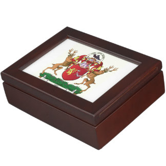 Manteau d'Akins de grande boîte de souvenir de Boîte À Souvenirs