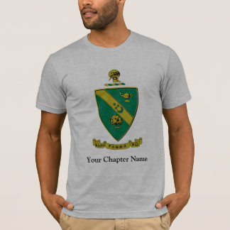 Manteau d'alpha Rho gamma des bras officiel T-shirt