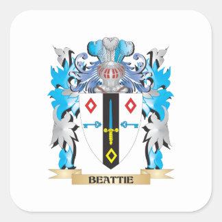 Manteau de Beattie des bras Stickers Carrés