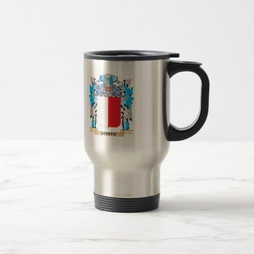 Manteau de bonito des bras tasse à café