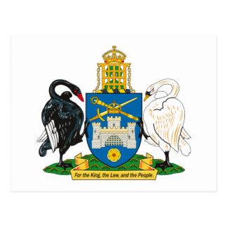 Manteau de Canberra de carte postale de bras