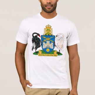 Manteau de Canberra de T-shirt de bras
