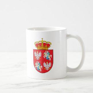 Manteau de Commonwealth des bras lithuanien Mug