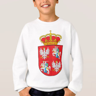 Manteau de Commonwealth des bras lithuanien Sweatshirt