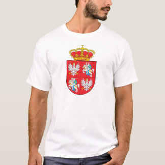 Manteau de Commonwealth des bras lithuanien T-shirt