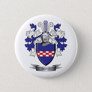 Manteau de crête de famille de Boyd des bras Pin's
