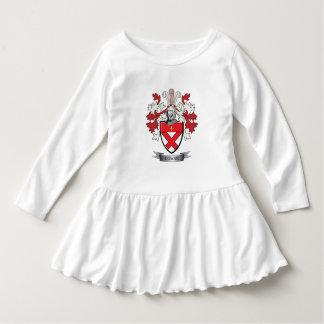 Manteau de crête de famille de Cowan des bras Robe Manches Longues