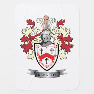 Manteau de crête de famille de Kennedy des bras Couverture De Bébé