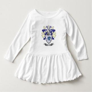 Manteau de crête de famille de Lyon des bras Robe Manches Longues