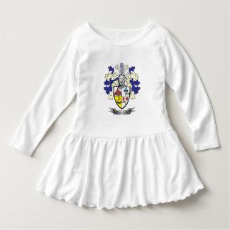 Manteau de crête de famille de MacLean des bras Robe Manches Longues