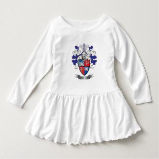 Manteau de crête de famille de MacLeod des bras Robe Manches Longues