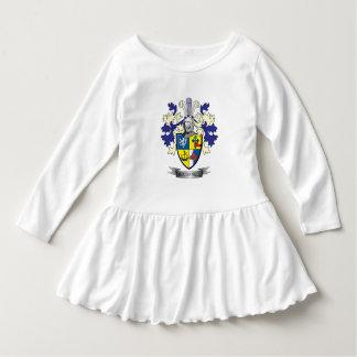 Manteau de crête de famille de McConnell des bras Robe Manches Longues