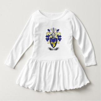 Manteau de crête de famille de McKenzie des bras Robe Manches Longues