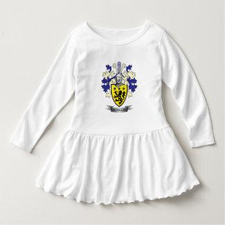 Manteau de crête de famille de McMillan des bras Robe Manches Longues