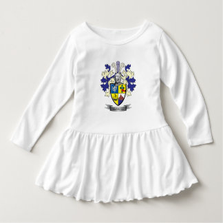 Manteau de crête de famille de McNeill des bras Robe Manches Longues