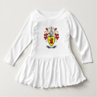 Manteau de crête de famille de Monroe des bras Robe Manches Longues