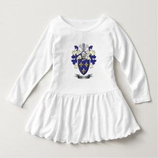 Manteau de crête de famille de Montgomery des bras Robe Manches Longues