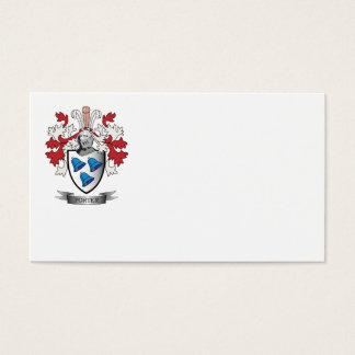 Manteau de crête de famille de portier des bras cartes de visite