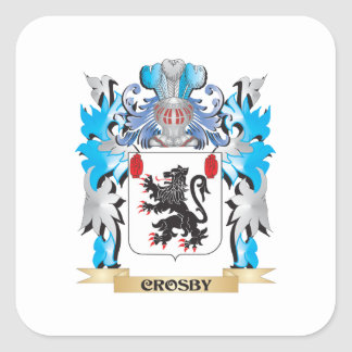 Manteau de Crosby des bras - crête de famille