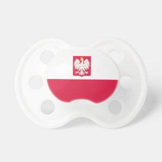Manteau de drapeau de la Pologne de tétine de bras