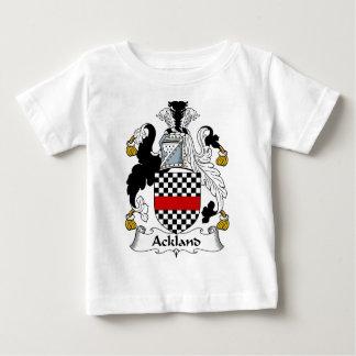 Manteau de famille d'Ackland des bras et des T-shirt Pour Bébé