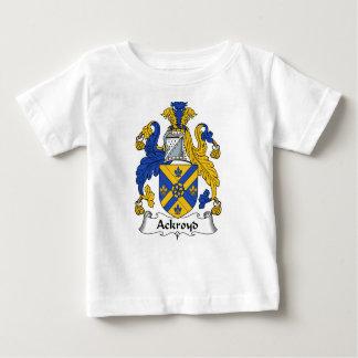 Manteau de famille d'Ackroyd des bras et des T-shirt Pour Bébé