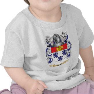 Manteau de Gara des bras crête de famille T-shirts