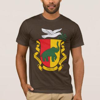 Manteau de Guinée de 1958) T-shirts de bras (