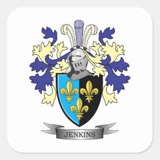 Manteau de Jenkins des bras Sticker Carré